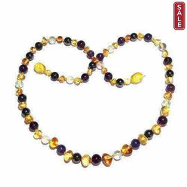 Child Eirene Gemstone Lemon Baltic Amber Necklace Jewellery / Necklaces / Beaded Necklaces Love Amber X