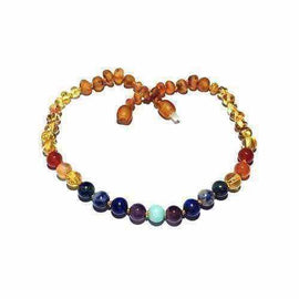 Child Iris Honey Baltic Amber Gemstones Necklace Jewellery / Necklaces / Beaded Necklaces Love Amber X
