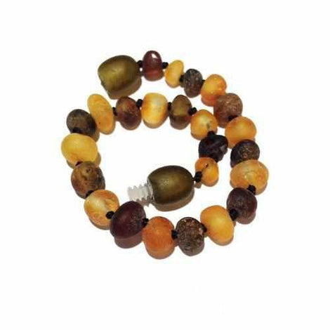Costume Jewellery Jewellery & Watches Child Pippin Raw Green Honey Baltic Amber Anklet Bracelet