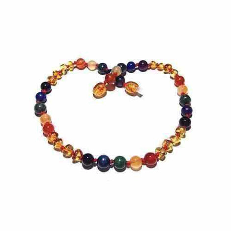 Child Rainbow Sprite Honey Baltic Amber Gemstones Necklace Jewellery / Necklaces / Beaded Necklaces Love Amber X