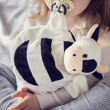 Cow Sleepytot Baby Comforter Toy Soother Dummy Holder Black White Sleepytot