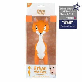 Ethan the Fox - Teething Toy Mooncow