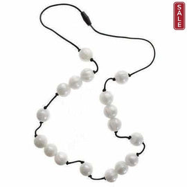 Gumigem Bubba Beads Chewable Teething Necklace Jewellery Hail White Teething Necklaces Gumigem