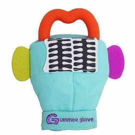 Gummee Glove Baby Teething Mitt Toy Unisex Turquoise Blue Teething Toys Gummee