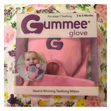 Pink Girls Gummee Glove Silicone Heart BABY Teething Ring Mitten Toy Gift UK Teething Toys Gummee