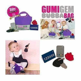 Purple Gumigem Bubba Bag Chewable Teething Toys Gift Girls or Boys Gumigem