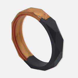 Silicone Black and Copper Teething Bangle Stylish Jewellery for Mums Love Amber X Ltd Baltic Amber Jewellery and Silicone Teething Necklaces
