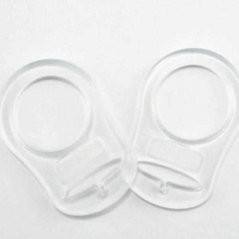 Sleepytot Silicone Adapter Rings for Ringless Dummies 2 Pack Sleepytot