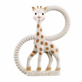 Sophie la girafe So pure Giraffe Teething Ring - Soft Version Baby Toy Love Amber X Baltic Amber Jewellery
