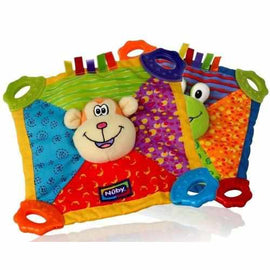 Nuby Teethe Blanket Assorted Designs Teething Toys Nuby