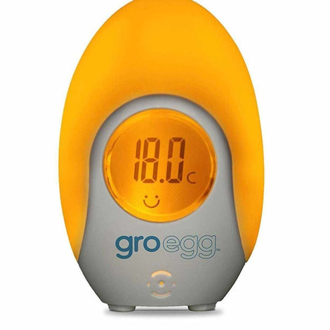 The Gro Company Groegg Colour Changing Room Thermometer Love Amber X Ltd Baltic Amber Jewellery and Silicone Teething Necklaces