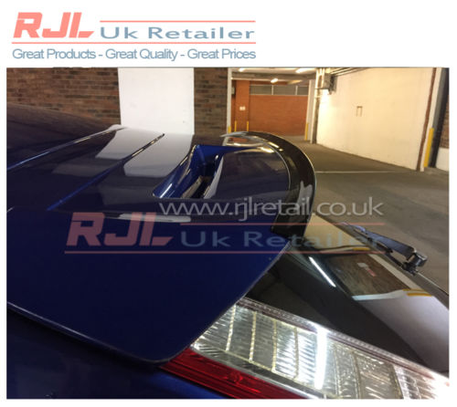 Black Gloss Rear Hatchback Boot Spoiler Extension Wing For Focus Zetec ST RS Mk3 2008-2011 - Rjl Retail Ltd