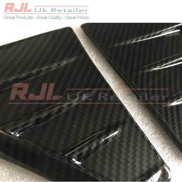 Ford Focus St225 Mk2.5 Facelift Carbon Fibre Hydrodipped Ford Focus Rs Style Wing Badges