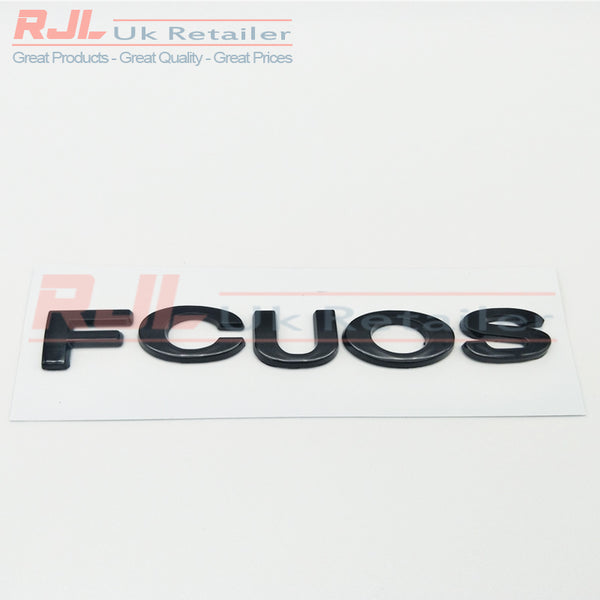 FOCUS Emblem Car Styling Sticker Body Rear Tailgate Badge For Ford Focus 2 ST RS