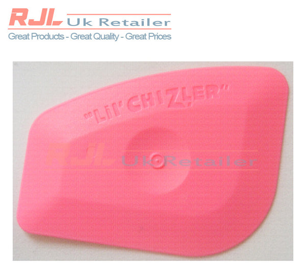 Lil Chizler Squeegee Wrapping Tool Scraper for Window/Headlight Tint 7 x 5.5cm - 10 Pieces - Rjl Retail Ltd
