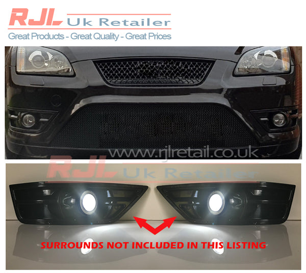 Ford Focus St 225 Mk2 2005-2008 LED Angel Eyes Super Bright Light Ready to Fit Ford Focus St - Rjl Retail Ltd