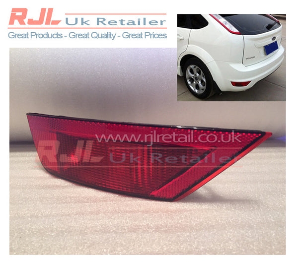 Euro Red Coloured UK Passenger Side Fog Light For Focus RS ST Zetec 2008-2011 Cars - Rjl Retail Ltd