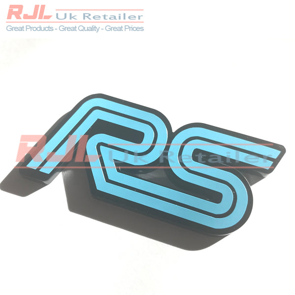 Custom Plastic Rs Boot Hatchback Adhesive Backed Badge For Mk1/2/3 2001-2016