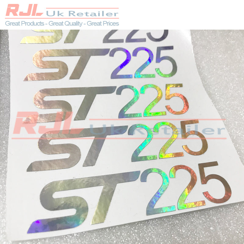 Set of 2 Ford Focus St225 Hologram St Vinyl Decals St Hatchback Badge For Mk1/2/3 2001-2016 - Rjl Retail Ltd