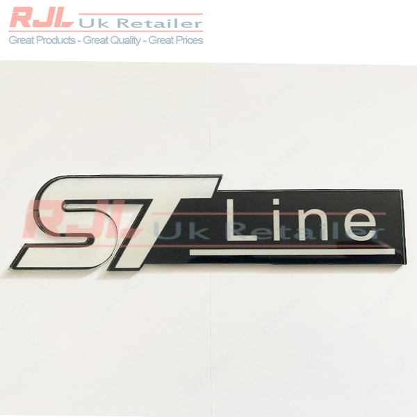 Custom Ford Focus ST Line Mk2/2.5/3 Front Radiator Grille Badge Hatchback St line