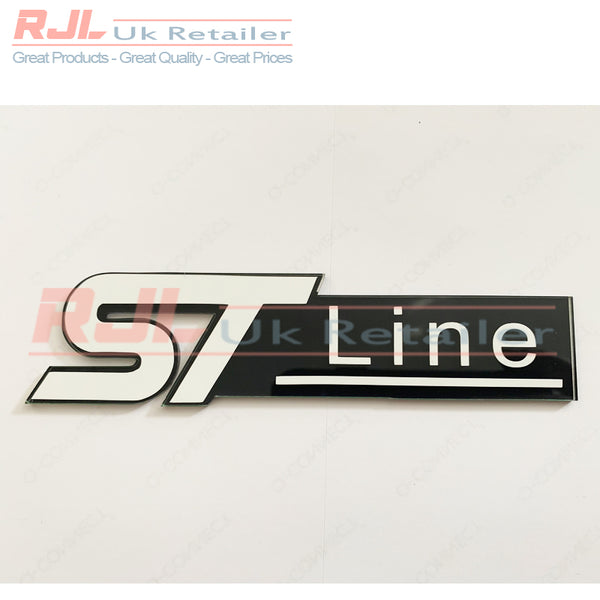 St Line VINYL DECAL - Ford Focus St Line Front Radiator Grille Badge Hatchback St MK 2/3