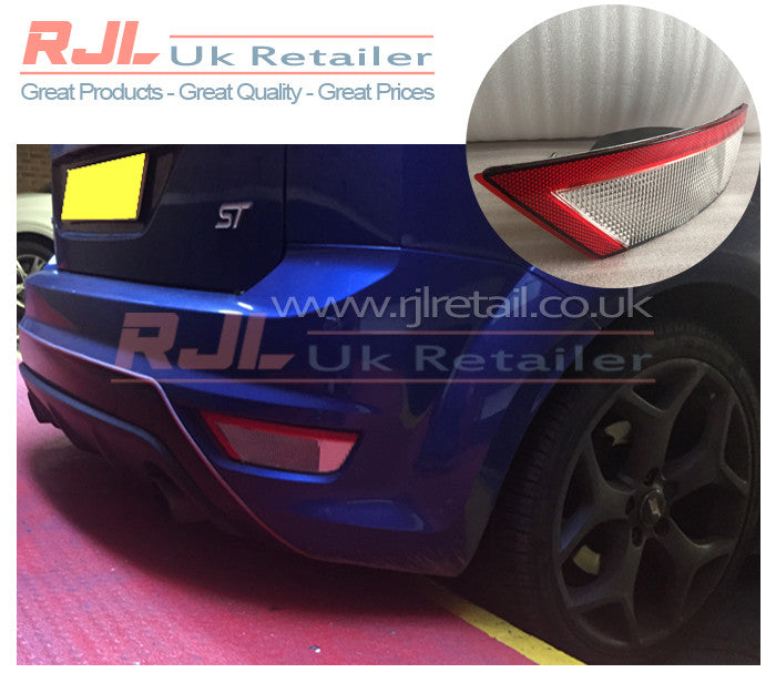 Drivers Side Euro White Reverse Fog Light Lamp For Focus RS ST Zetec 2008-2011 Cars - Rjl Retail Ltd