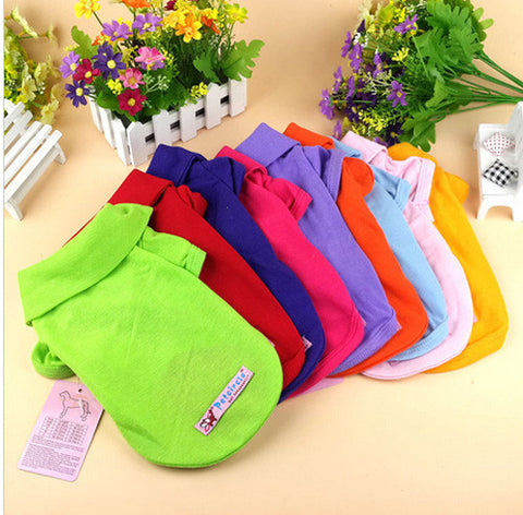 Colorful Dog Clothes