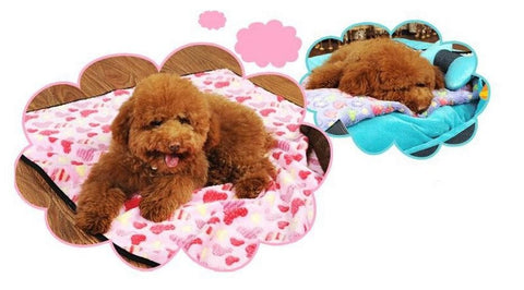 Dog Bed Plush Mat