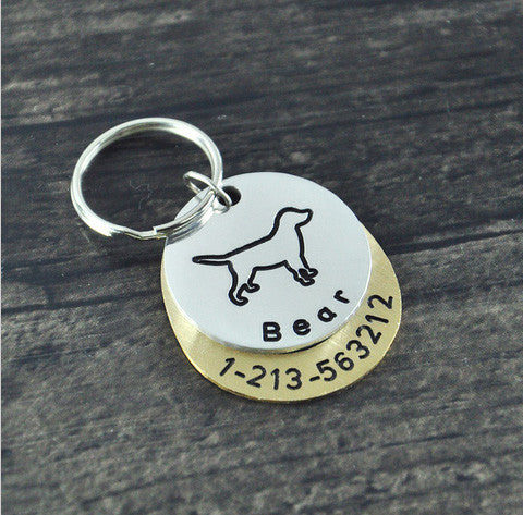 Labrador Customized Dog Tag