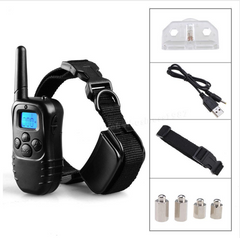 Remote Dog Training Collar Rechargeable And Waterproof