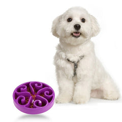 Slow Eating Pet Bowl-Flower Design
