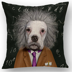 Einstein Dog Pillow