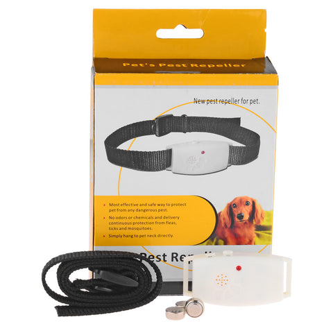 Ultrasonic Dog Repeller for Fleas, Ticks and Mosquitoes