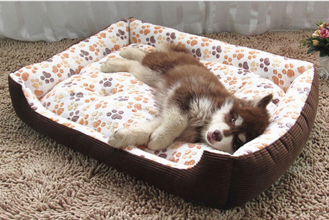 Large Dog Basket Bed
