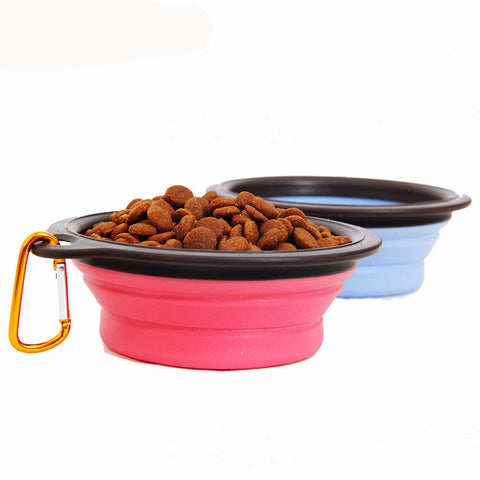 Collapsible Water Feeder Travel Bowl for your Dog-FREE