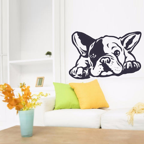 French Bulldog Wall Decal Sticker