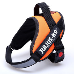 Large Collar Dog Harness Vest with Chest Straps
