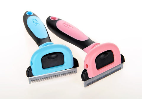 Dog Brush -Dematting Deshedding Tool Trimmer Comb Rake