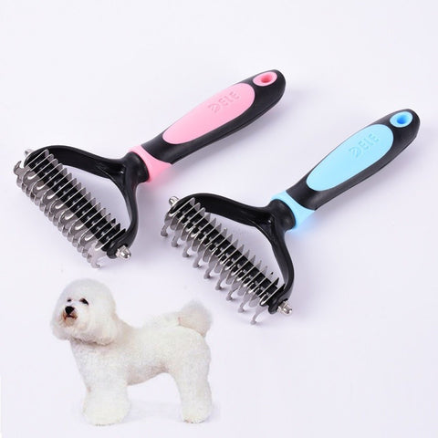 Dog Grooming Brush Deshedding Tool