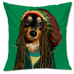 Hipster Dog Pillow- 6 designs