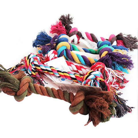 New Fashion Puppy/Dog Braided Rope Chew Toy