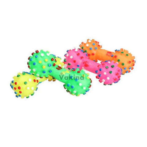 Dog Dumbell Colorful Toy