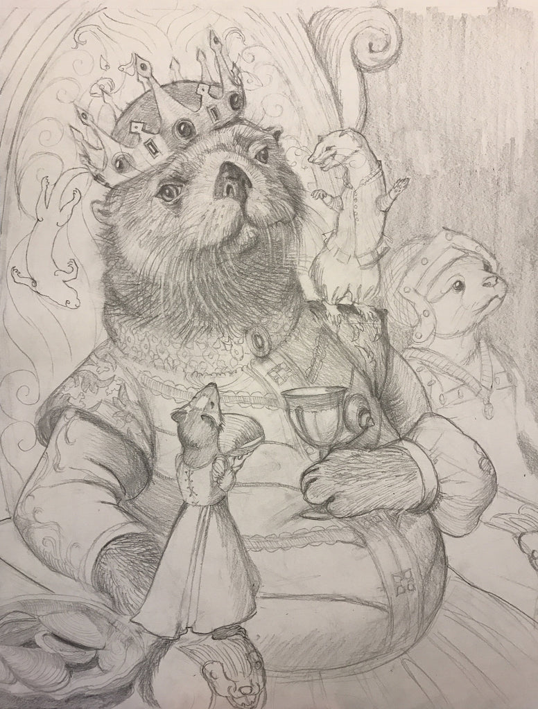 King of the Mustelidae - Process