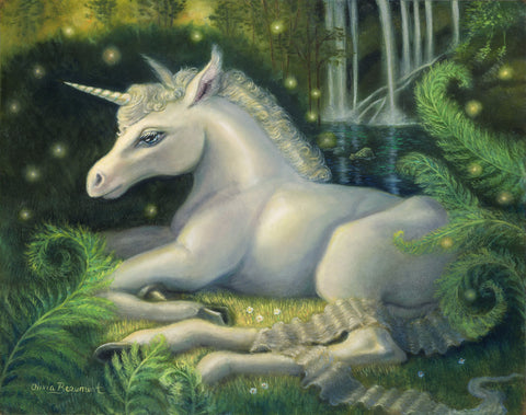 Seraphina Shadowmere - Unicorn - prints