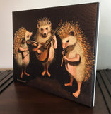 The Hoggens Brothers - Giclee canvas print