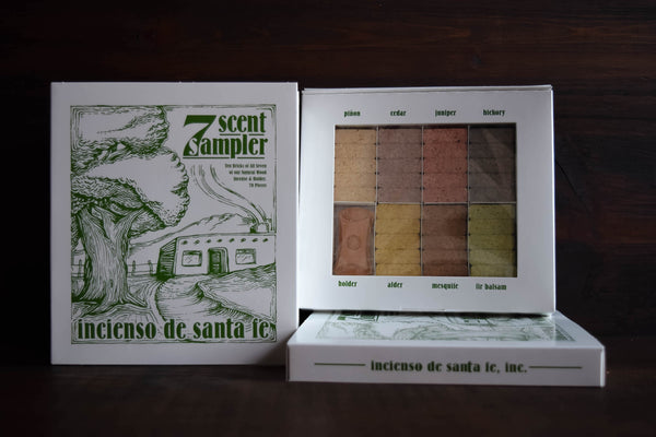 Seven Scent Incense Sampler