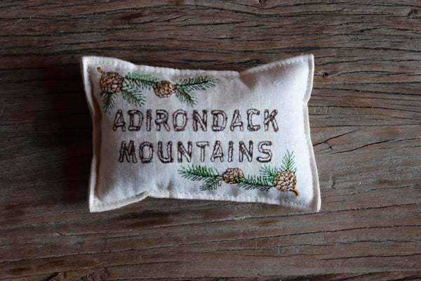 Adirondack Mountains Balsam Fir Pillow