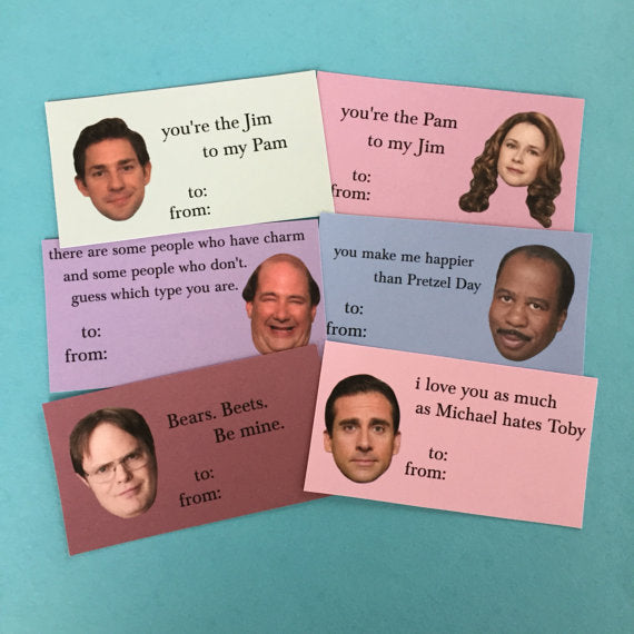 The Office Valentineu0027s Day Cards