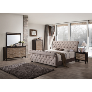 B111 Queen Bed by HD Furniture - HD Furniture
