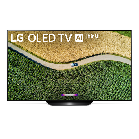 OLED55B9PUA 55-Inch 4K UHD OLED Smart TV with AI ThinQ® - 4K Cinema HDR